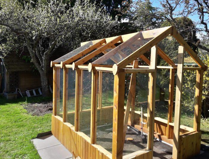 a custom garden shed